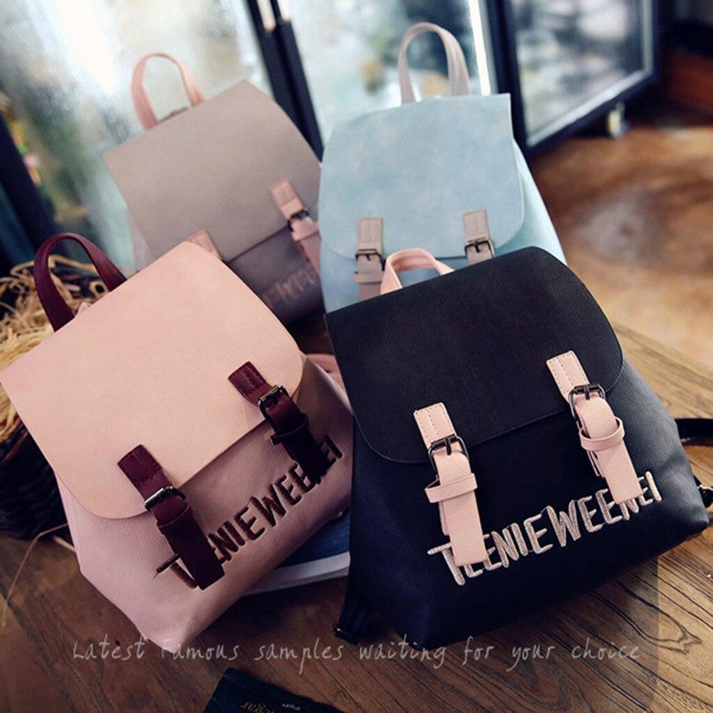 Женский мини рюкзак из искусственной кожи для девочек подростков, Детский многофункциональный маленький рюкзак, Женский школьный рюкзак Mochila # T2G Рюкзаки      АлиЭкспресс