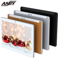 black silver ANRY Tablet 10.1 Inch Android 7.0 3G Phone Call GPS Wifi Bluetooth Tab Pc Quad Core 4 GB RAM 32GB ROM Gold/Black/Silver For Kids (1)