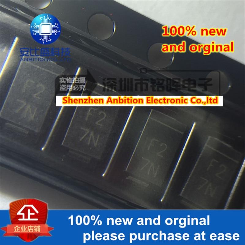 10pcs 100% New And Orginal EC11FS2-TE12L Silk-screen F2 200V SMA DO-214AC In Stock