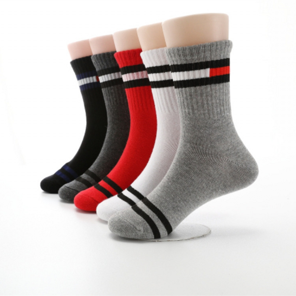 2019 New Autumn Winter Children Socks Cotton Stripes Fashion Boys Girls Socks 3-12 Year Kids Socks