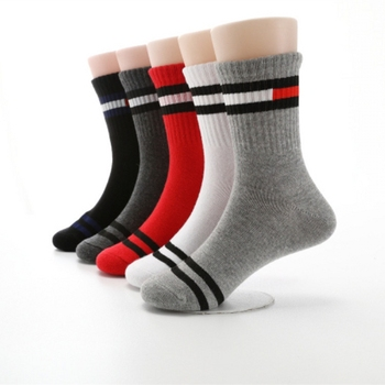 Children's Cotton Stripes Fashion Socks Socks for boys Autumn Boy's Clothing Kids & Mom Kids' Clothing Winter
