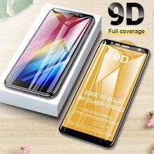 9D Стекло для samsung Galaxy A6 A8 плюс A7 A9 Экран протектор Закаленное Стекло для samsung процессором обработки изображений, A5 a520 защитную пленку на galax на 5, 6, 7, 8, 9, защита глас a7 a750 a9 a9200 a9s