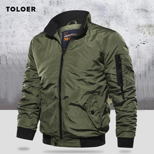 Military Jacket Men's Slim Bomber Jacket Aurumn Winter Men Outerwear Casual Long Sleeve Jackes and Coats Mens Clothing Plus Size