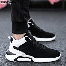 Men Shoes Fashion Comfortable Casual High Top Non-slip Sneakers For Outdoor Flats Zapatillas Hombre