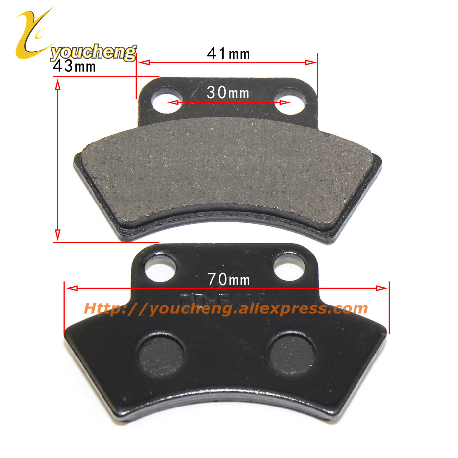 Parking Brake Friction Disc Pads 500cc Engine Repair Cfmoto CF500 X5 ATV 9010-0803A0 CD-F136 UTV 4 X 4 Quad Bike ZCDSP-CF500