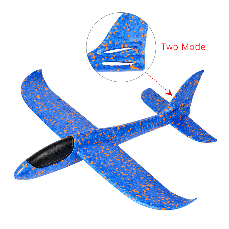 38/48CM main jet bricolage planeur volant avions jouets pour enfants fête cadeau mousse avion modèle jouets planeurs volants avion jouet jeu
