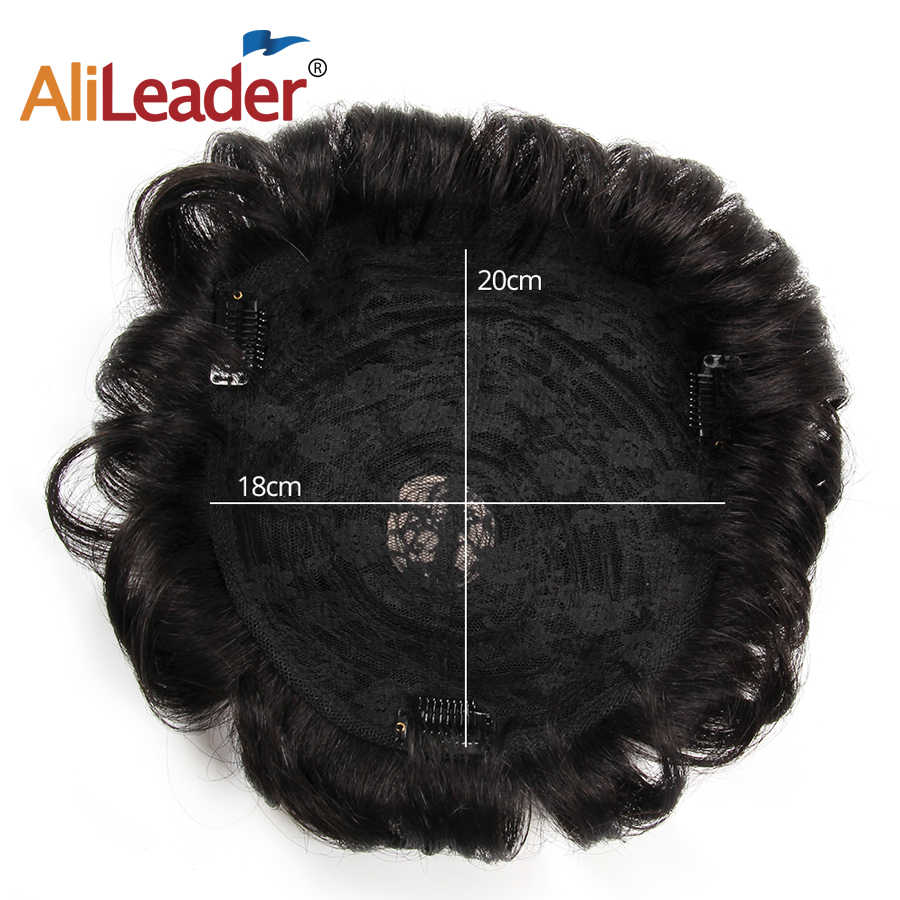 Alileader Hot Selling Mannen Toupee Duurzaam Natuurlijk Ogende Remy Haar Systeem Voor Mannen Pruiken Human Hair Duurzaam Haarstukken Kant