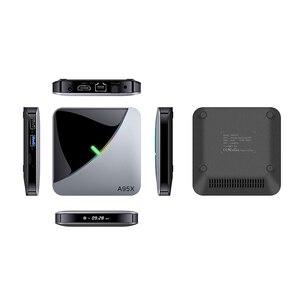 Image 5 - A95X F3 אוויר RGB LED Amlogic S905X3 חכם אנדרואיד 9.0 טלוויזיה תיבת 4GB RAM 32GB 64GB ROM wifi Bluetooth 4K UHD סט Top Box 2GB 16GB
