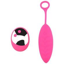 10 Speed Vibrating Love Eggs Vaginal Massage Ball Woman Clitoris Stimulator Wireless Remote Control Adult Sex Toys for Women