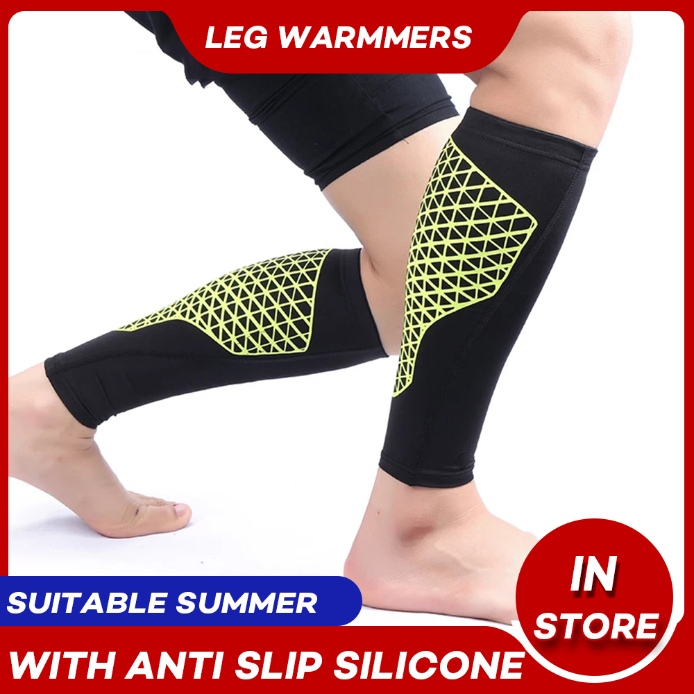 Arbot New Compression Calf Sleeve Football Basketball High Elastic Sports Leg Sleeves Shin Guards Protector Soccer CyclingM L XL