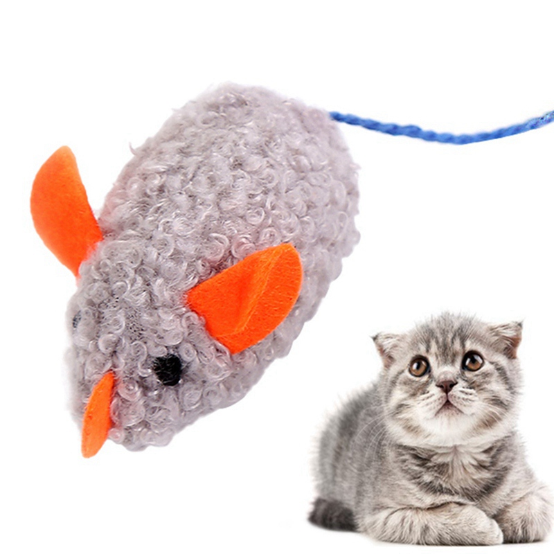 Simulation Plush Mouse Toy With Tail For Cats Pet Interactive Toy Teaser Kitten Supplies Puppy Playing Exercise Supplies Pet Toy 15