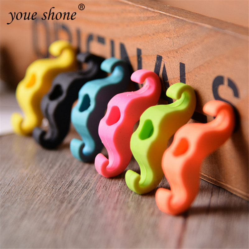 6pcs Cute Beard Styling Eraser Rubber CartoonPencil Erasers Office School Supplies Cute Stationery Children Gift DROP SHIPPING
