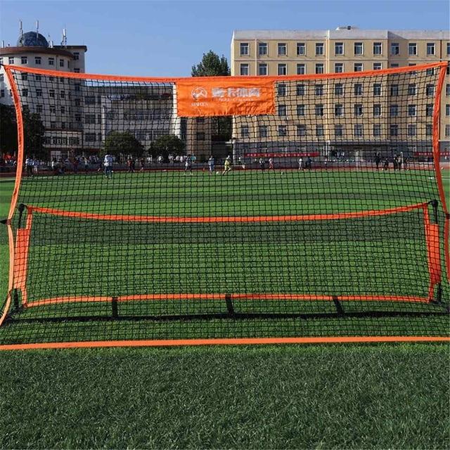 Portable Soccer-Ball Target Rebounder
