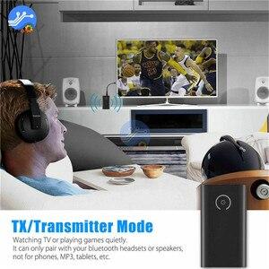 Image 5 - Bluetooth 5,0 Sender Empfänger Wireless Audio Adapter 2 in 1 A2DP 3,5mm Jack Aux Bluetooth Adapter Für PC TV kopfhörer Auto