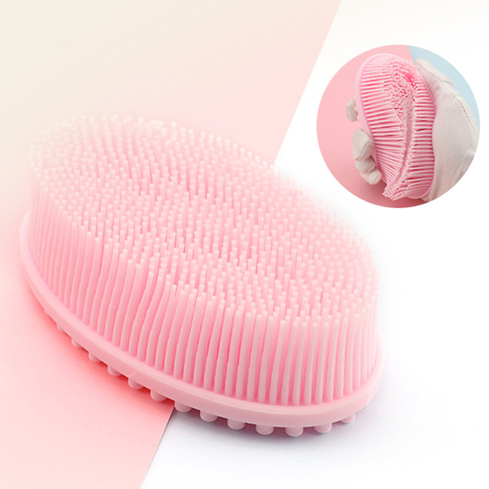 Scalp Bath Exfoliating Bathroom Body Brush Head Massage Baby Shower Scrubber Silicone Bubbles Puff Soft Home Shampoo