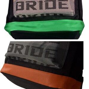 JDM СТИЛЬ гоночный тканевый ремень стиль Школьный рюкзак автомобильный холщовый рюкзак сумка для невесты гоночные сувениры