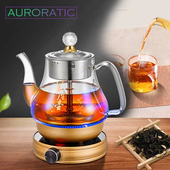Electric Kettle Automatic Teapot Overheat Protection Intelligent Tea Maker Herbal Soup Boiler Health Preserving Pot electric teapot with infuser filter health electric kettle puer oolong tea teapot 800ml tea pot multifunction glass water kettle