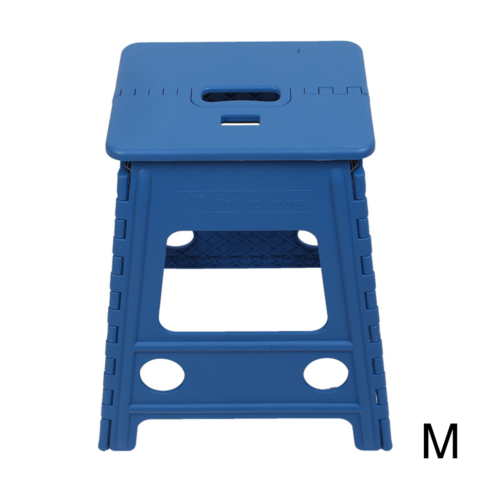 Non Slip Chair Self Locking Thickened Store Bathroom Travel Portable Outdoor Camping Stable Plastic Home Folding Step Stool