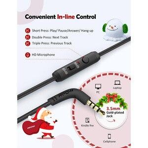 Image 5 - Mpow auriculares CH6 Pro para niños, plegables con cable, auriculares limitadores de volumen con micrófono, regalo de Navidad para niños y niñas