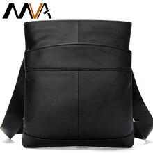 MVA męska torba na ramię dla mężczyzn lśniąca skóra mała torba kurierska męska skórzana crossbody/męskie torby dla mężczyzn torebka 703