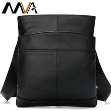 MVA sacchetto di spalla degli uomini per gli uomini in pelle di olio piccolo messaggero del sacchetto degli uomini del cuoio genuino/crossbody/maschi borse per gli uomini della borsa 703