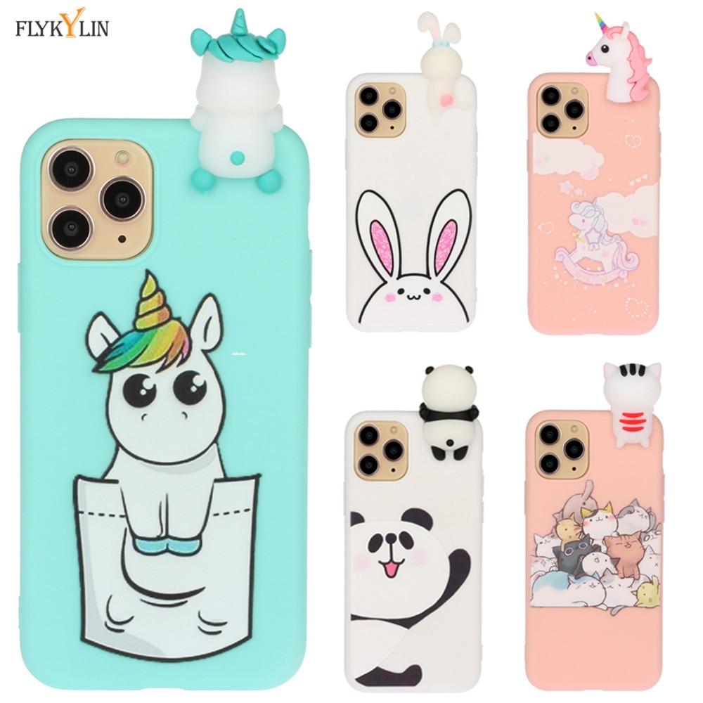 XR Case Cute Panda Unicorn Phone Cases