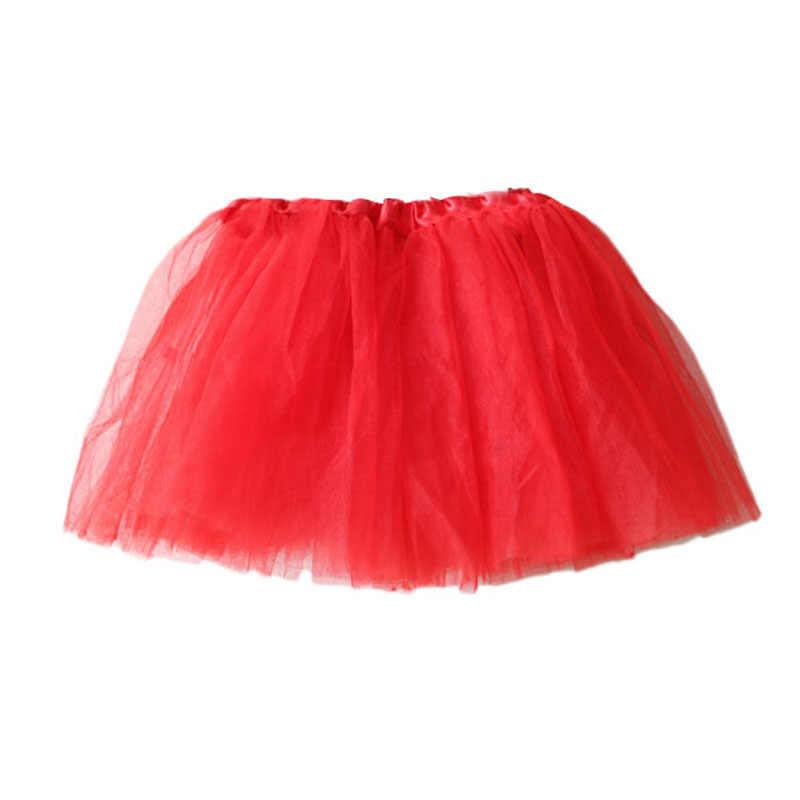 チュチュスカートチュチュスカート子供ベビーダンスペチコートバレエファンシー衣装プリンセスガールパーティーチュチュチュール子供ボール