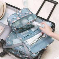 Travel Hanging Large Capacity Packing Organizers Storage Bag Make Up Case Makeup Toiletry Women Beauty Wash Travel Accessories