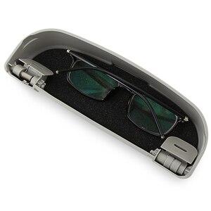 Автомобильный чехол для солнцезащитных очков, держатель для солнцезащитных очков, коробка для хранения для DACIA SANDERO STEPWAY Dokker Logan, Duster|Дискодержатель|   | АлиЭкспресс
