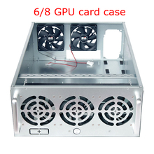PC Case USB Miner Server Cabinet Rack Open Air Pro Mining Rig Frame Graphics Card Chassis ETH BTC ZEC XMR Coin 6/8 GPU 5 Fans лекция 8 логика мифа в я пропп часть 2