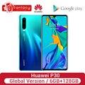 Global Version Huawei P30 6GB 128GB rin 980 Smartphone 30x Digital Zoom Quad Camera 6.1'' Full Screen OLED NFC Cellphone