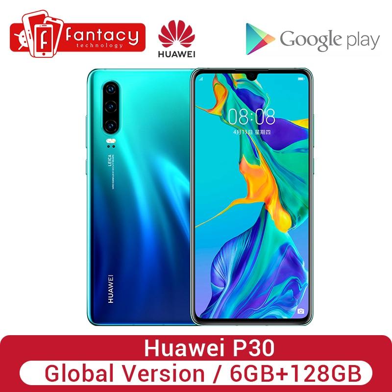 Global Version Huawei P30 6GB 128GB rin 980 Smartphone 30x Digital Zoom Quad Camera 6.1'' Full Screen OLED NFC Cellphone|Cellphones|Cellphones & Telecommunications - title=