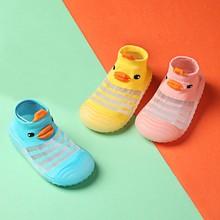 Baby First Walkers Boy Girl Cute Cartoon 3d Duck Shoes Soft Anti-slip Sole Newborn Infant First Walkers Toddler Casual Shoes#P30 cheap CN (pochodzenie) Mesh (air mesh) Płytkie Wszystkie pory roku Slip-on Cartoon animacja Unisex Pierwsze spacerowiczów RUBBER
