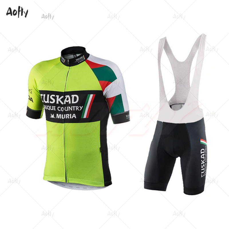 USKADI Pro Team Summer Cycling Jersey Set Breathable Bicycle MURIAS Mountain Bike Wear Clothes Maillot Ropa Ciclismo Short Suit