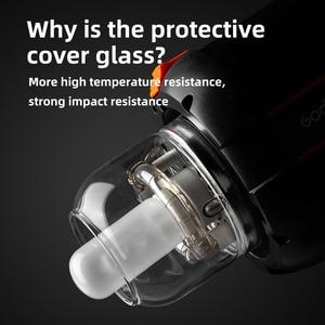 Image 2 - Godox cubierta de vidrio cúpula protectora tapa para Godox QT / QS/GT/serie GS estudio Flash estroboscópico