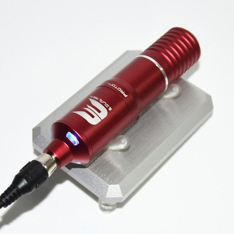 2020 mais novo de alta qualidade tatuagem rotativo caneta híbrido permanente maquiagem máquina tatuagem forte silencioso fonte do motor