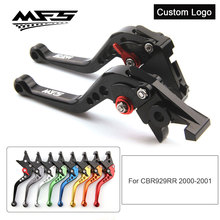 CNC Brake Clutch Levers Handle For Honda CBR929RR CBR 929RR 2000 2001 Motorcycle