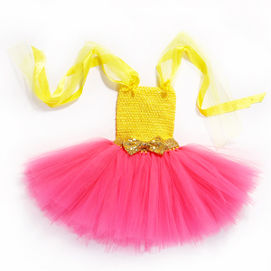 Image 5 - 王女の女の子笑チュチュとヘッドバンドかわいい誕生日パーティードレス子供カーニバルハロウィン笑コスプレ衣装