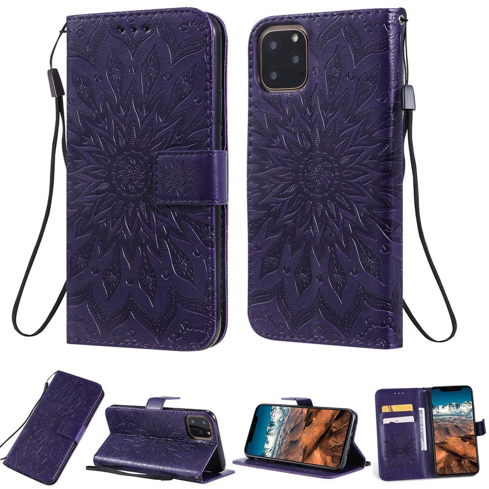 Luxury Flower Wallet Flip Case for iPhone 11/11 Pro/11 Pro Max 34