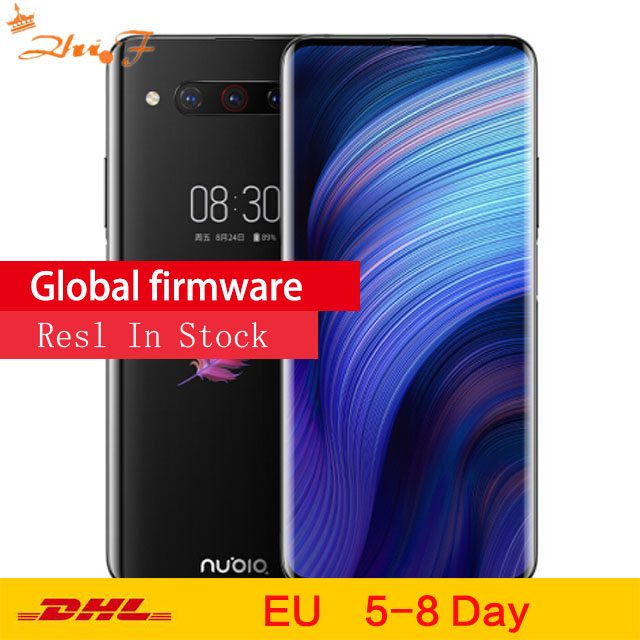 Global Version Nubia Z20 8GB 128GB Mobile Phone Dual Screen Snapdragon 855 Plus Octa Core 4000mAh 3 Rear Camera SmartPhone