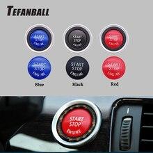 Кнопка запуска двигателя автомобиля замена крышки стоп-переключатель кнопка украшения для BMW X1 X5 E70 X6 E71 Z4 E89 3 5 серии E90 E91 E60