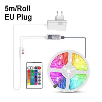 15M Tuya Smart Home Led Strip Diy Wifi Voice Switch RGBW Light Lightings For Amazon Alexa Siri Google Home Smart Life Smart Lamp - RGB Set EU plug, 10M