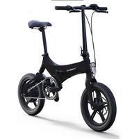 16 zoll mini falten elektro bike 36V lithium batterie versteckte in rahmen 250w hinten rad motor hinten schock e bike Städtischen reise|E-Bike|   -