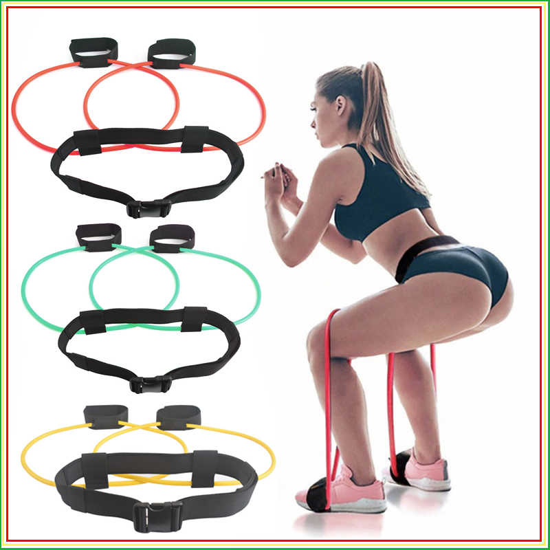 Fitness Booty Bands Set Widerstand Bands für Butt Beine Muskel Training Einstellen Taille Gürtel Elastische Bands Pedal Exerciser Workout