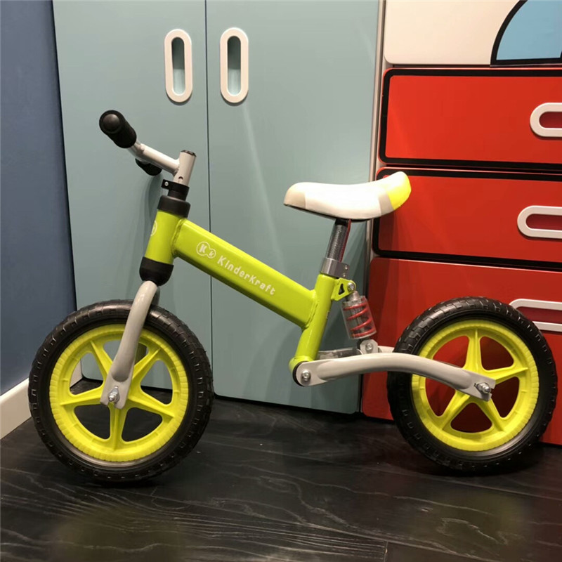 H0baced1416334ef5b795f83d1800ec76e Brand New Balance Bike Bicycle For Kids 3~6 Ages Child Toddler Complete Cycling Bike Learn to Ride Bicicleta No Pedal Push Bike
