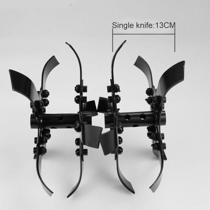 Garden Tool Accessories Lawn Mower Blades Mower Work Head Loosen Soil Head Weeding Ditching Wheel  J99Store