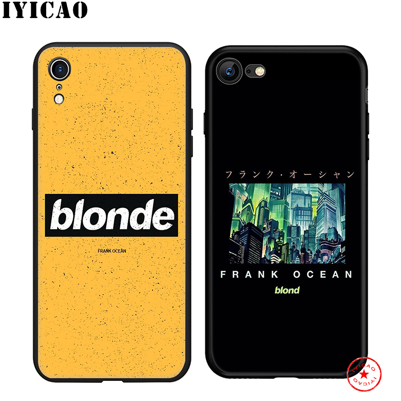 IYICAO Frank Ocean Blonde Soft Phone Case for iPhone 11 Pro XR X XS Max 6 6S 7 8 Plus 5 5S SE Silicone TPU 7 Plus in Fitted Cases from Cellphones Telecommunications