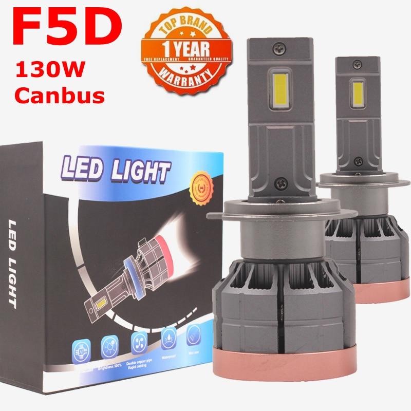 F5D 130W 13000LM H7 H4 9005 9007 H11 h13 светодиодный головной светильник s лампы Противотуманные фары светильник H7 H11 H8 9005 9006 H1 880 Автомобильный светодиодный ...