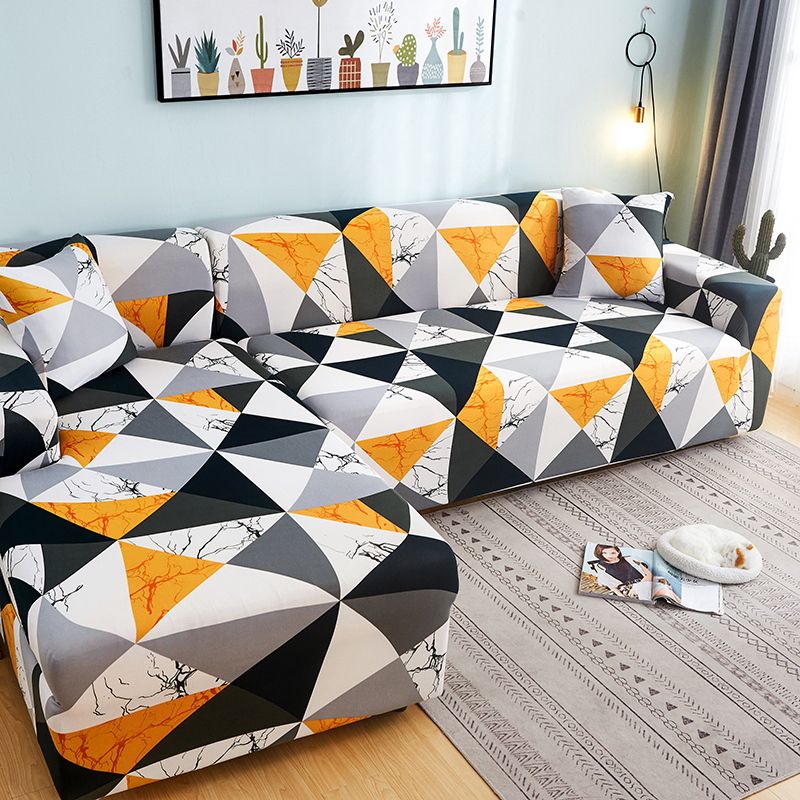 Corner Sofa Covers For Pets Sofa Cover Elastic For Living Room Slipcovers Stretch  Polyester Loveseat Couch Cover