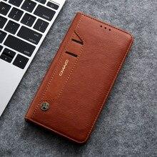 Brieftasche Fall Flip Cover Für Samsung Galaxy S20 Ultra S8 S9 + S10 5G HINWEIS 8 9 10 + plus Foto Karte Slot Magnetische Leder fall funda